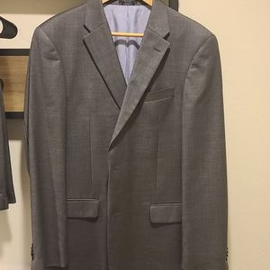 Mens Tommy Hilfiger 2 Piece Wool Suit